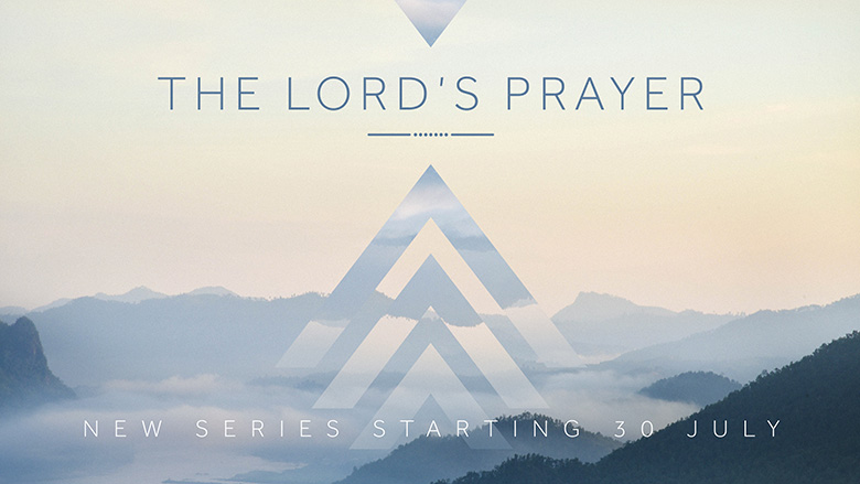 Preaching Series Artwork – The Lord's Prayer