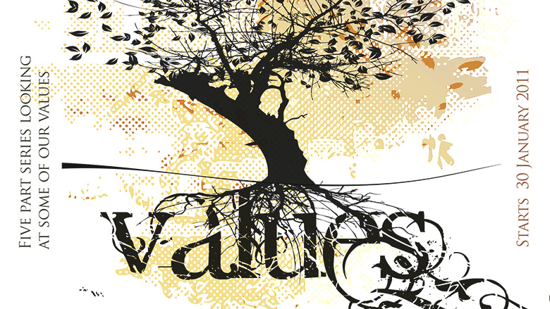 Sermon Series Design – Values – Five values that underpin everything we do